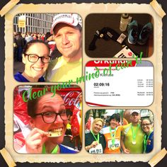 Halfmarathon cologne!! I'm a proud finisher!!! Life is better, when you're running!!