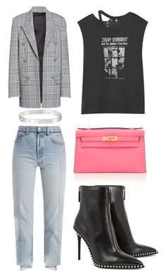"""""""Untitled #660"""" by bubblez-325 ❤ liked on Polyvore featuring Vetements, Alexander Wang, R13 and Cartier"""