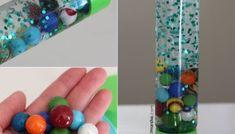 Oil and Water: Space Rainbow Sensory Bottles, Sensory Bottles For Toddlers, Sensory Bottles Preschool, Glitter Sensory Bottles, Calm Down Jar, Calm Down Bottle, Bosch Tassimo, Galaxy In A Bottle, Ocean Bottle