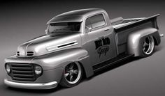 Ford F1 Pickup Truck Hot Rod | Amazing Classic Cars