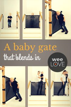 weeLove: A Cool Baby Gate If this baby gate were a kid, he'd be one of the coolest on the playground. (And as a gate, it's super easy to use with just one hand! Retractable Baby Gate, Baby Jail, Do It Yourself Design, Baby Gates, Baby Swings, Baby Must Haves, Everything Baby, Baby Safety, Baby Time