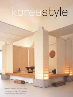 Korea Style reveals the intrinsic elements of Korean design; simplicity, moderation, constraint, and a deep respect for all things natural. Despite the filtering of Japanese and Western… read more at Kobo. Traditional Interior, Contemporary Interior Design, Traditional House, Interior Design Kitchen, Modern Design, Bathroom Interior, Korean Traditional, Asian Interior, Japanese Interior