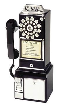 Features:  -Rotary dial with push button technology.  -Redial feature.  -Ringer volume on/off switch.  -Tone/pulse switch.  -Earpiece volume control.  -Coin Bank.  Product Type: -Corded telephone.  Wa