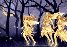 Selina Fenech fairies