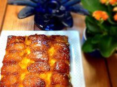 Bolo de fubá caramelado com maçã :: Pimenta na cozinha