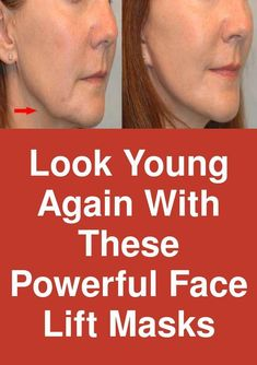 """Look young again with these powerful Face lift masks Certainly you have in the kitchen a few common ingredients that act as a professional face-lift when added to a face mask for rejuvenation; more accurate, they """"tighten"""" the skin, to look firmer and brighter. So if you want to have firm skin or to diminished wrinkles, appeal to nature's recipes: The easiest natural lifting … #AntiAgingMask Face Mask For Pores, Acne Face Mask, Best Face Mask, Face Skin, Face Masks, Skin Mask, Younger Skin, Look Younger, Anti Aging Tips"""