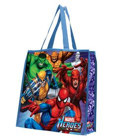 This Marvel Heroes Shopping Tote - Set of Two by Vandor is perfect! #zulilyfinds
