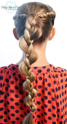 Gaya Rambut Braids Twist Hairstyle Braids Twist Hairstyle - Braids Twist Hairstyle If there's annihi Basic Hairstyles, French Braid Hairstyles, Holiday Hairstyles, Little Girl Hairstyles, Twist Hairstyles, Pretty Hairstyles, Rope Twist Braids, Five Strand Braids, Pretty Braids