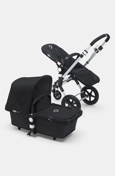 A sturdy, fully loaded, multi-terrain stroller features swivel-wheel suspension and supreme comfort. #Nordstrom