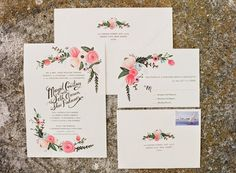 darling invitation suite by Rifle Paper Co.