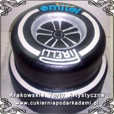 015. Tort opona dla firmy z oponami. Tyre cake.