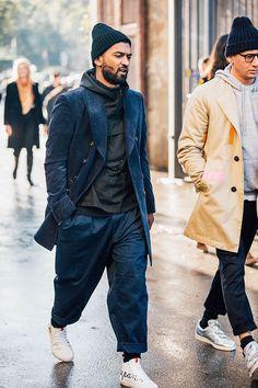Street looks au Pitti Uomo automne-hiver 2016-2017 à Florence #beardfashion Zoom sur les meilleurs looks de rue pris sur le vif par Jonathan Daniel Pryce au Pitti Uomo automne-hiver 2016-2017 à Florence