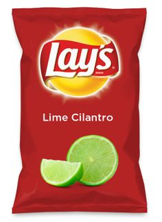 Wouldn't Lime Cilantro be yummy as a chip? Lay's Do My son's suggestion for the #Lays contest! Do Us A Flavor is back, and the search is on for the yummiest flavor idea. Create a flavor, choose a chip and you could win $1 million!  https://www.dousaflavor.com See Rules.