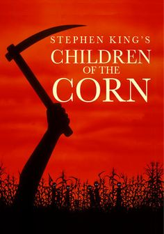 "Stephen King's Children of the Corn  A young couple stranded in a rural town falls into the sinister hands of a mysterious group of children who murder all of the town's adults at the command of their leader, known only as ""He Who Walks Behind the Rows."""