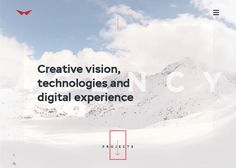 Red collar, agency portfolio. Great cross-device experience