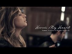 Here's My Heart - Crowder // Worship Cover by Tommee Profitt & Brooke Griffith Good Music, My Music, Best Worship Songs, My Bible, Verse, Christian Music, Album Covers, My Heart, Youtube