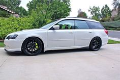2005-06 Subaru (non-Outback) Legacy Wagon. Pictured is the GT, but I want a 2.5i, which is a super-rare find.