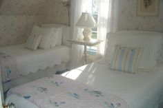 Bedroom The Rice Cottage Southwest Harbor, Maine www.sesameandlilies.com www.homeaway.com #124121