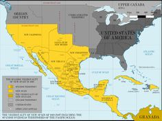 New Spain in 1819/ NUeva España en 1819