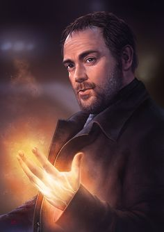 Supernatural - Crowley by Lun-art.deviantart.com on @DeviantArt