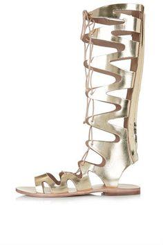 FIGTREE Gladiator Sandals $85