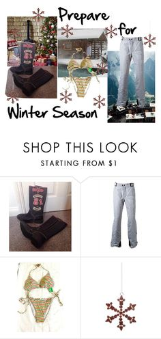 """""""Prepare for Winter Season"""" by oanaf ❤ liked on Polyvore featuring Benetton and Shishi"""