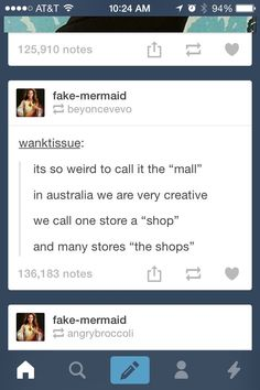 In Australia we call multiple stores 'the shops'