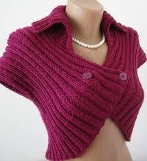 Bolero em tricot. fonte: loucaporartes.blogspot.com