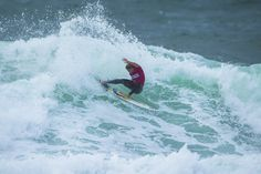 Johanne Defay at the Swatch Pro in Hossegor, France
