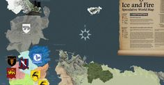 Game of Thrones`un Haritası yayınlandı!