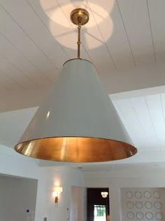 Circa lighting (Small Goodman Antique White/Brass)