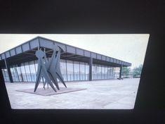"""56a57da3a9aaa1 Mies Van Der Rohe """"National Gallery Berlin"""" Modern Architecture 35mm Art  Slide"""
