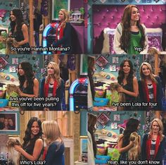 Hannah Montana, I miss the old Disney channel. Disney And Dreamworks, Disney Pixar, Hannah Montana Forever, Hannah Montana Funny, Hannah Montana Quotes, Disney Viejo, Humor Disney, Funny Disney, Old Disney Shows