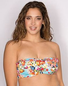 cfa50fe34b Pour Moi Seville Underwired Mulit Colour Strapless Top Size 34 D RE077 BB  05  fashion