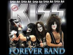 KISS Forever Band - Announcement Concert on FR, 15 July 2016 Kiss Forever, Horror Font, Rock Music, Cover, Announcement, Halloween Face Makeup, Father, Wonder Woman, Punk