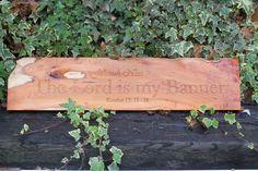 Engraved Wooden Pergola Sign Pergoda