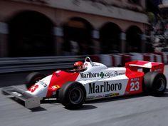 Bruno Giacomelli  Alfa Romeo 1981