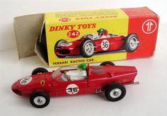 Annons på Tradera: DINKY TOYS ... FERRARI RACING CAR