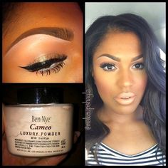#AFRICAN AMERICAN WOMEN #MAKEUP.......CHECK OUT MORE ON DAILY BLACK BEAUTY EXCLUSIVES ON FACEBOOK!!!