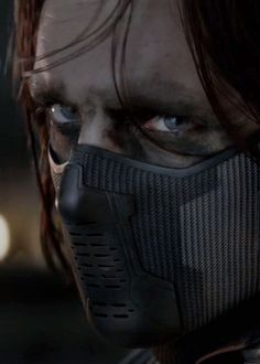 Bucky!!!   Winter Soldier.  Sebastian Stan