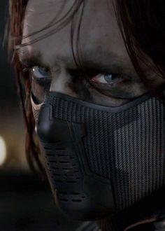 Bucky!!!   Winter Soldier.  Sebastian Stan