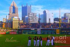 Best team in baseball! Believe in the Bucs by Erica Michelle
