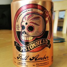 Strong hoppy bitterness. Very nice. Drinking a Pistonhead Full Amber by Brutal Brewing