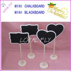 10PCS MINI chalkboard, blackboard rectangle and heart design,for wedding table numbers, wedding place-in Blackboard from Office & School Supplies on Aliexpress.com | Alibaba Group