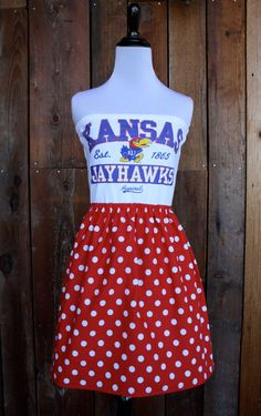 University of Kansas KU Jayhawks Game Day by jillbenimble on Etsy