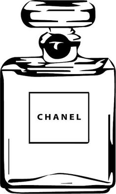Chanel Logo Stencil Sketch Coloring Page Silhouette Cameo, Silhouette Projects, Chanel Bedroom, 3d Templates, Mode Poster, Chanel Decor, Chanel Party, Chanel Logo, Coco Chanel