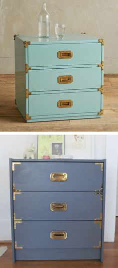 Lacquered Wellington Collection: make this piece from Anthropolgie for less with this easy DIY!