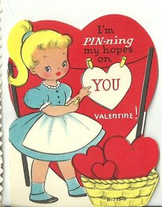 293 Best Vintage Valentines Images On Pinterest Valentines Day