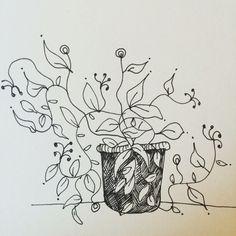 Plant. Drawing