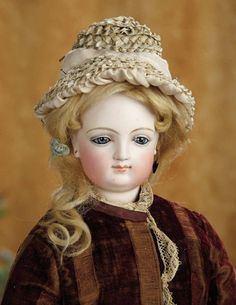 French Bisque Smiling Wooden-Bodied Poupee, Leon Casimir Bru, Unusual Expression 3500/4500 | Art, Antiques & Collectibles  Toys & Hobbies  Dolls  | Auctions Online | Proxibid